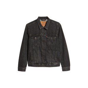 NEW Levi's Premium Trucker Fegin Grey Denim Jacket